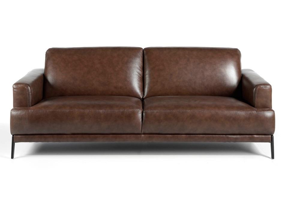 Angel cerda прямой диван 5653-3p-m1595 коричневый 119440/2