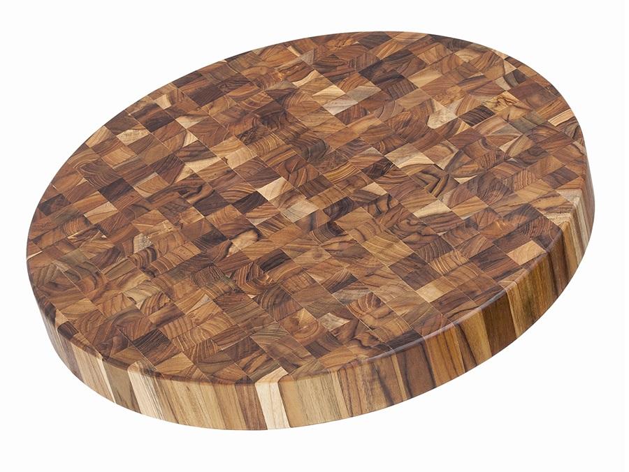 Доска разделочная торцевая butcher block (teak house) коричневый 5 см.