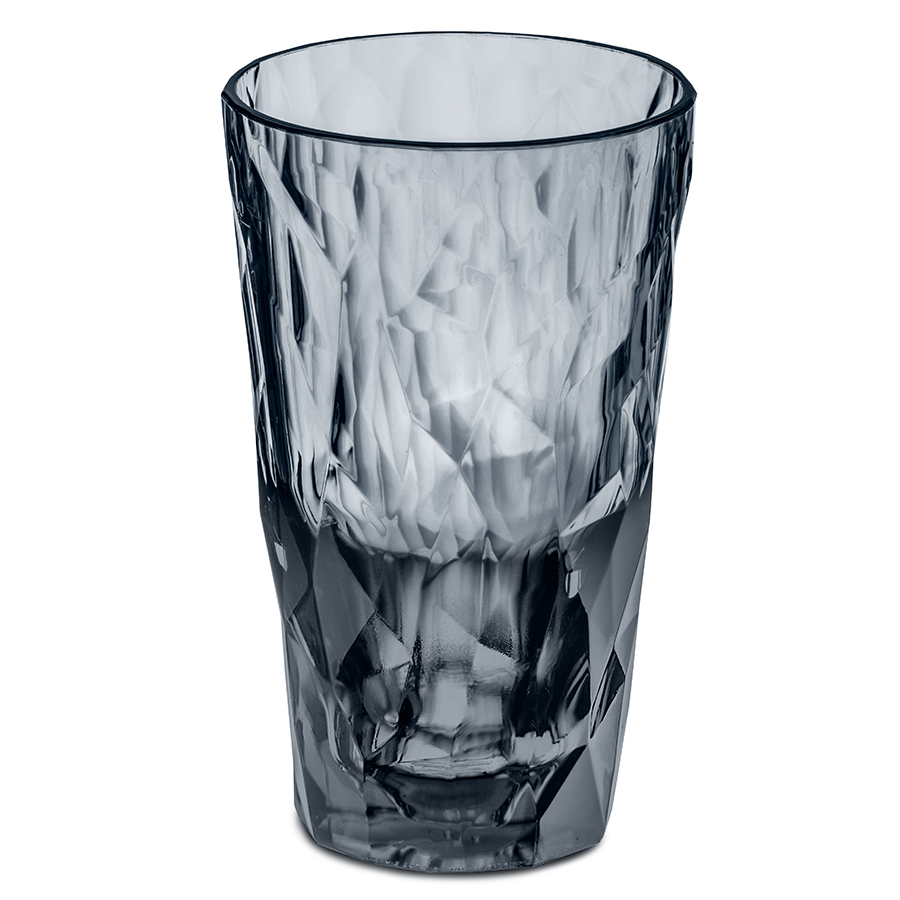 Стакан superglas club (koziol) серый 14 см.