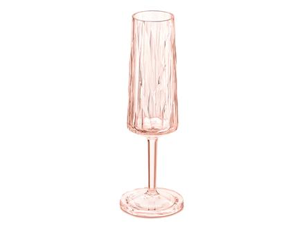 Бокал для шампанского superglas club (koziol) розовый 20 см.