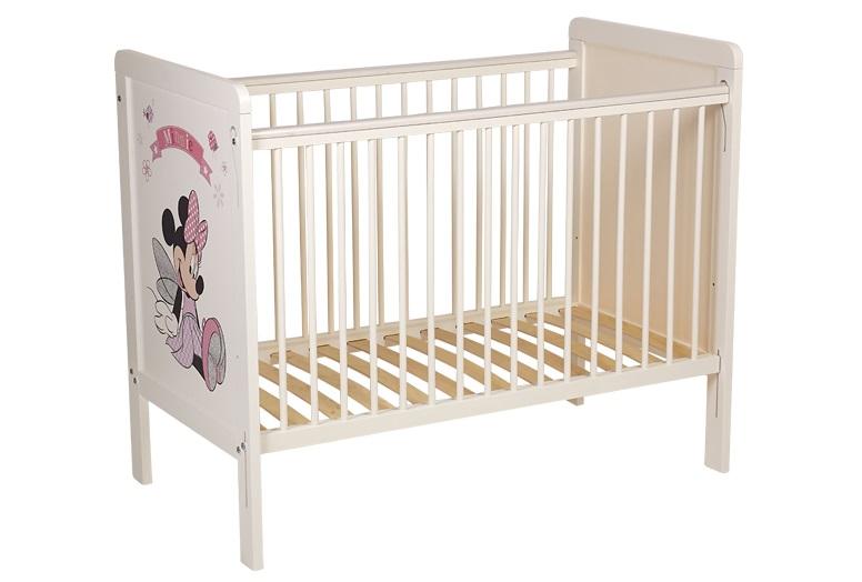 Кроватка детская polini kids (disney baby) белый