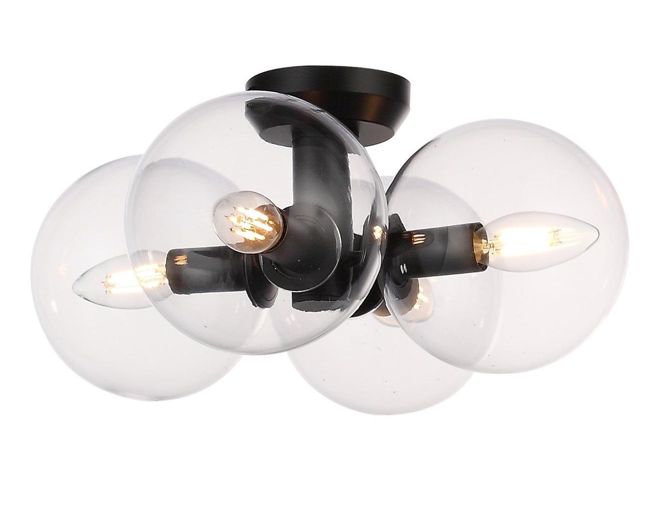 Люстра потолочная rosello (st luce) прозрачный