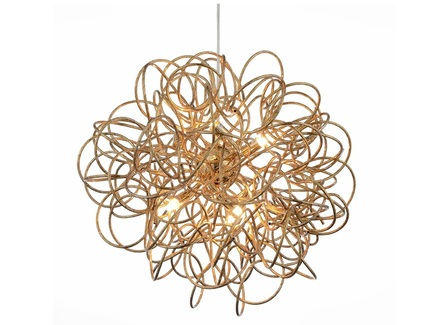 Люстра подвесная merulo (st luce) золотой