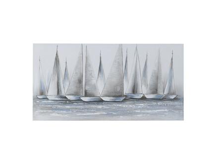 Картина на подрамнике burdur (to4rooms) серый 120x60x3 см.