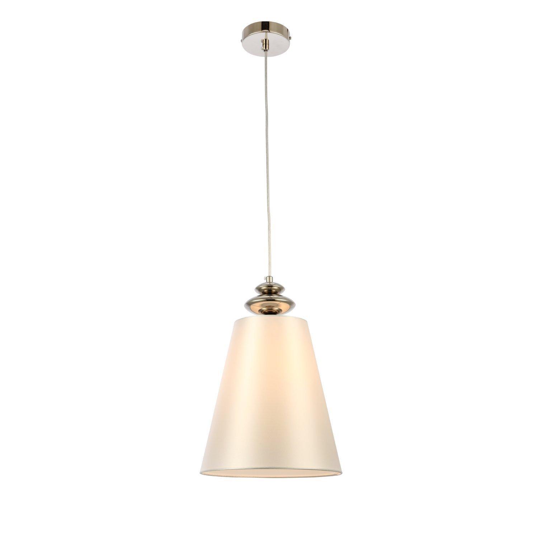 Подвесной светильник rionfo (st luce) серебристый 123 см.