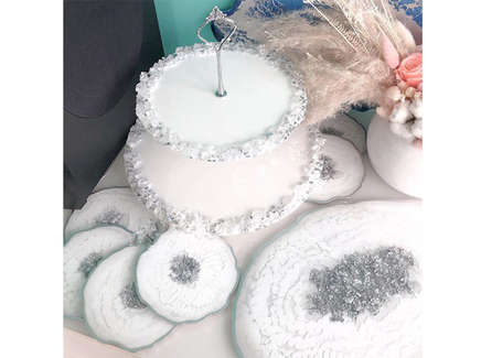 Столовый набор white (kovka object) белый