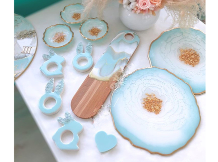 Кухонный набор gentle (kovka object) голубой