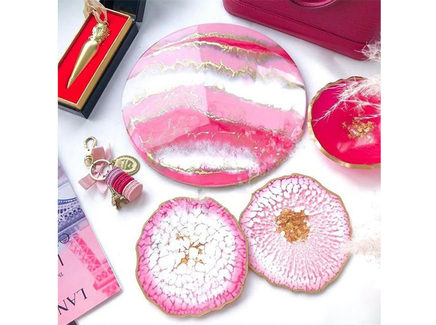 Столовый набор «pink» (kovka object) розовый