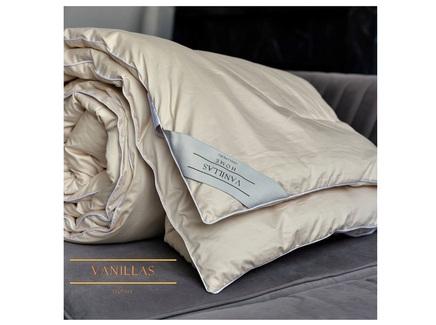 Кашемировое одеяло анже (vanillas home) бежевый 145x205 см.
