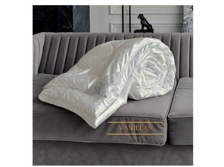 Шелковое одеяло шенонсо (vanillas home) белый 175x205 см.