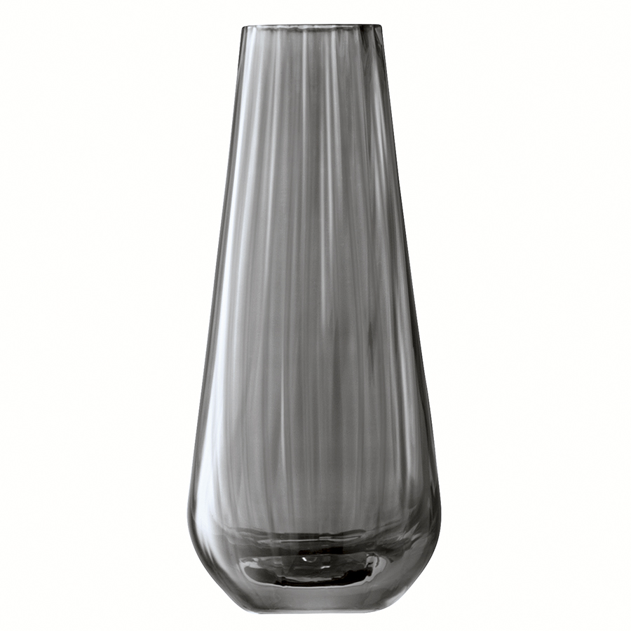 Ваза zinc (lsa international) серый 7x17x7 см.