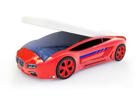 Кровать-машина карлсон roadster бмв (magic cars) красный 105x49x174 см.
