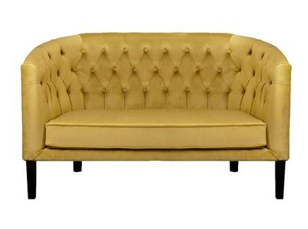 Диван harry (mak-interior) желтый 150x92x80 см.