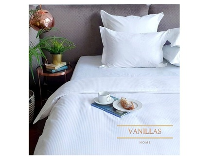 Комплект постельного белья швейцарские альпы (vanillas home) белый 180x210 см.