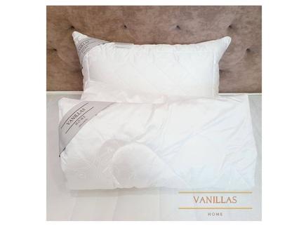 Шёлковое детское одеяло шенонсо (vanillas home) белый 110x140 см.