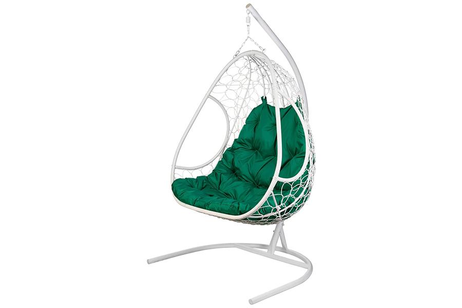 Подвесное кресло primavera white (bigarden) белый 140x195x75 см.