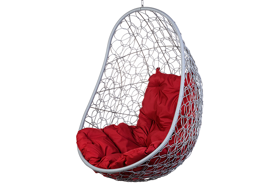 Подвесное кресло easy gray (bigarden) серый 80x130x66 см.
