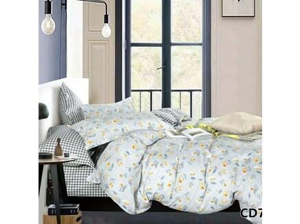 Постельное белье (1,5-спальный комплект) arlet (kingsilk) белый 45x35x8 см.