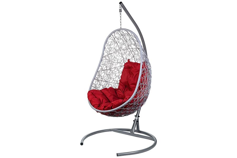 Подвесное кресло easy gray (bigarden) серый 80x195x66 см.