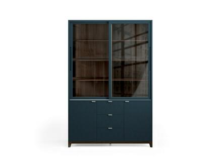 Буфет case (the idea) серый 139x210x50 см.