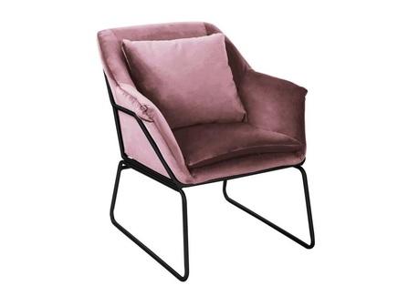 Кресло alex (bradexhome) розовый 80x79x80 см.