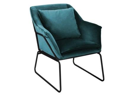 Кресло alex (bradexhome) голубой 80x79x80 см.