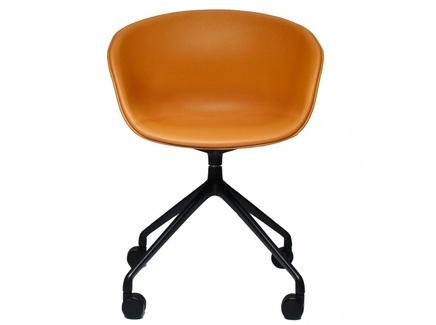 Кресло hay chair (bradexhome) оранжевый 51x83x51 см.