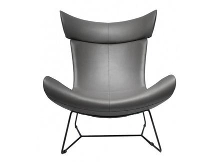 Кресло imola loft (bradexhome) серый 88x107x88 см.