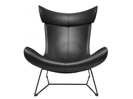 Кресло imola loft (bradexhome) черный 88x107x88 см.
