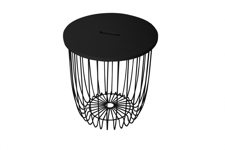 Кофейный столик easy (bradexhome) черный 36 см.