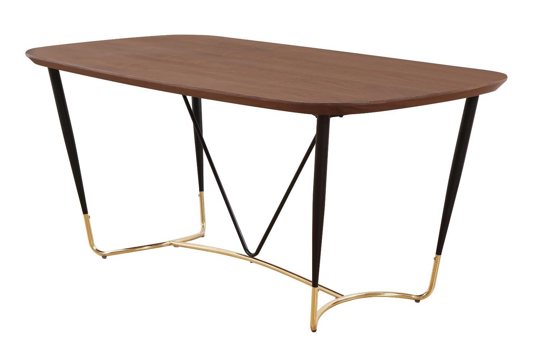 Стол max (bradexhome) коричневый 180x75x90 см.