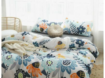 Комплект постельного белья (полутороспальный) (asabella) мультиколор 160x220 см.