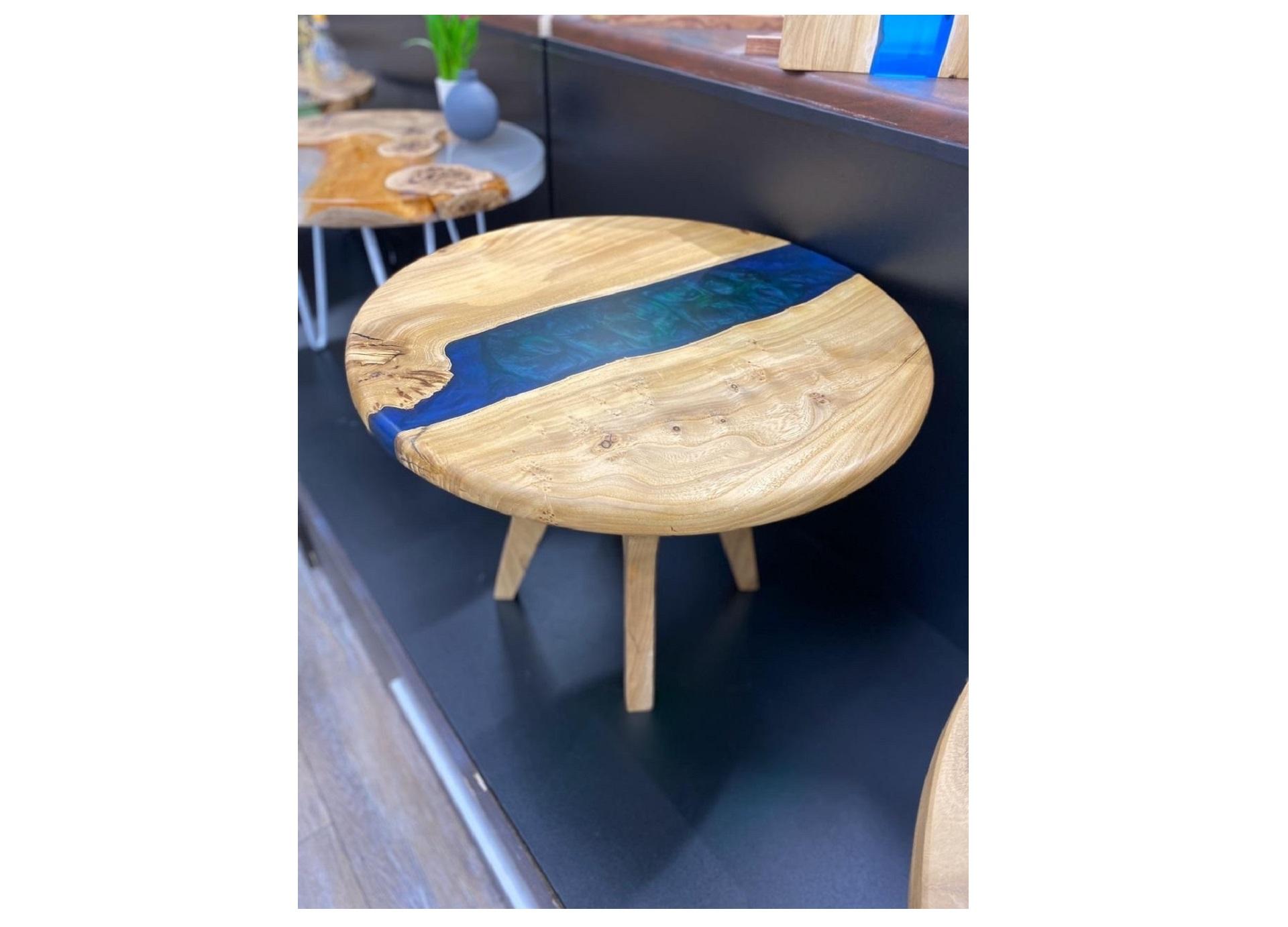 Журнальный стол (woodzpro) бежевый 60x45 см.