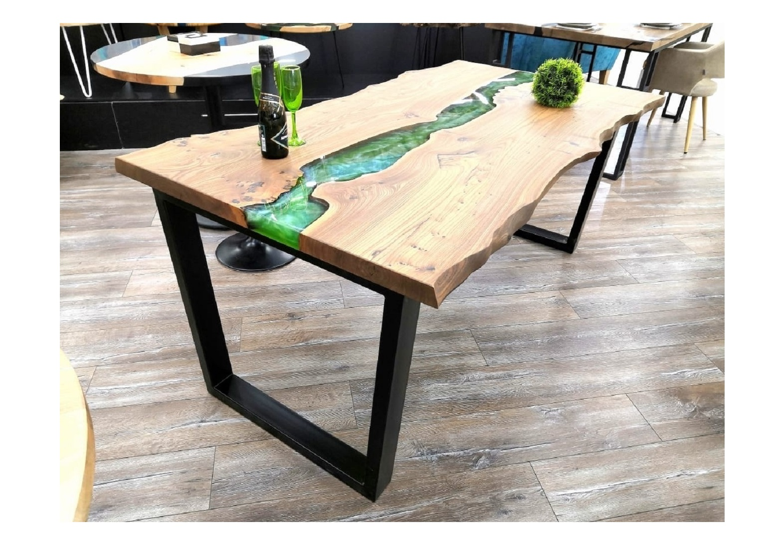 Обеденный стол (woodzpro) бежевый 90x75x170 см.