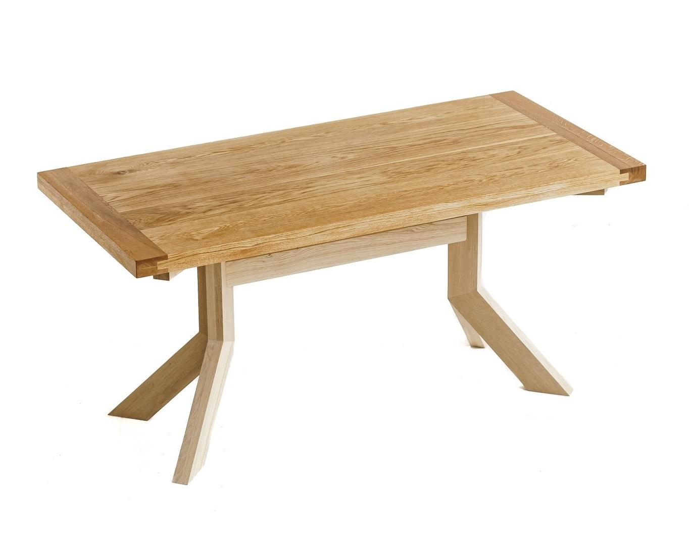 Обеденный стол (woodzpro) коричневый 77x75x160 см.