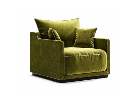 Кресло soho (the idea) зеленый 94x71x94 см.