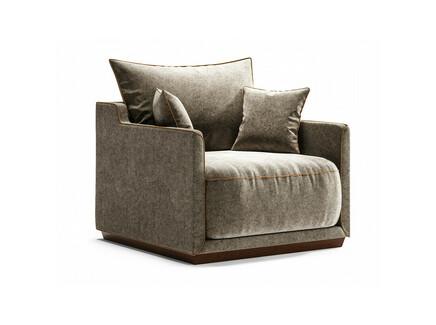 Кресло soho (the idea) серый 94x71x94 см.