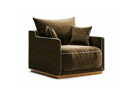 Кресло soho (the idea) коричневый 94x71x94 см.