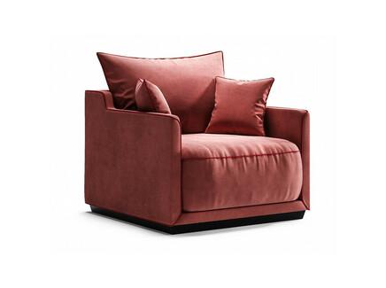 Кресло soho (the idea) красный 94x71x94 см.
