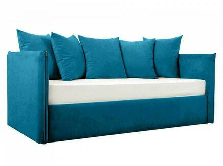 Кровать-кушетка milano (ogogo) голубой 205x83x108 см.