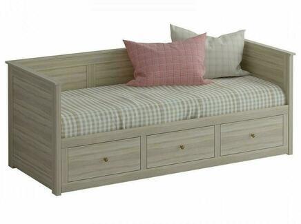 Кровать-кушетка reina (ogogo) бежевый 211x82x89 см.