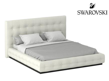 Кровать kristal (ogogo) белый 186.0x102x230.0 см.