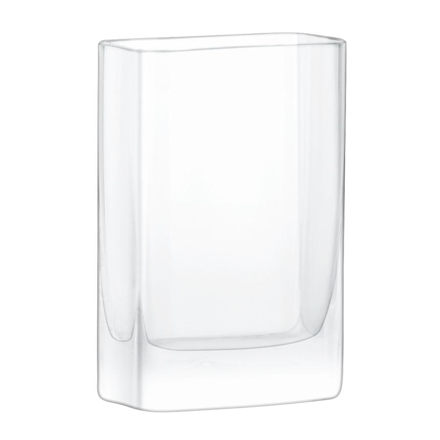 Ваза прямоугольная modular (lsa international) прозрачный 10x15x5 см.