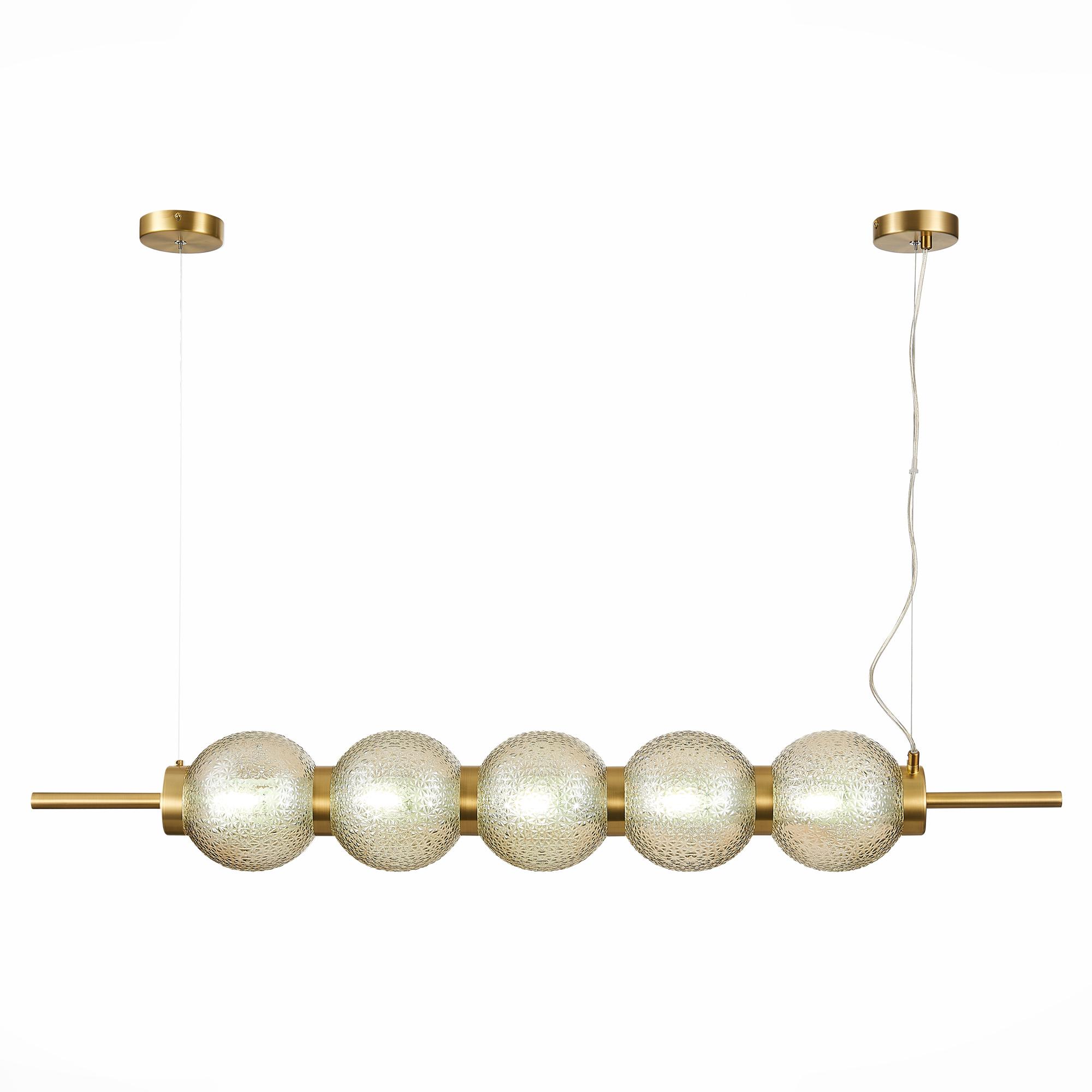 St luce / Светильник подвесной marena (st luce) золотой 116x120x16 см.