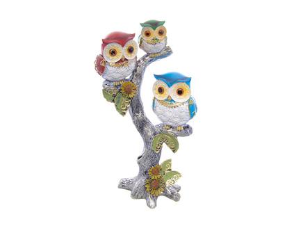 Статуэтка owls (royal classics) мультиколор 10x24x15 см.