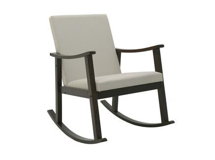Кресло-качалка unkempt (to4rooms) белый 64.0x93.0x85.0 см.