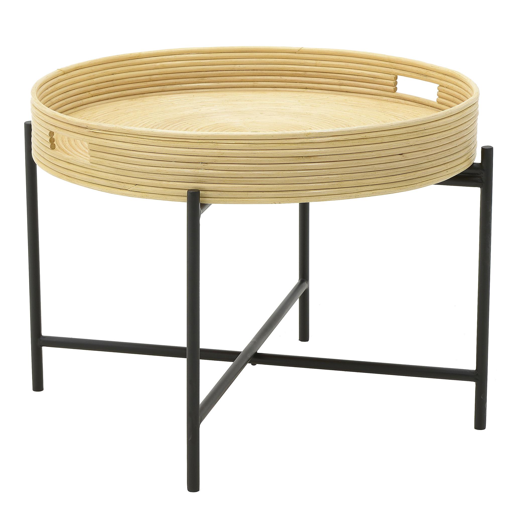 Стол-поднос worgl (to4rooms) коричневый 46.0 см.