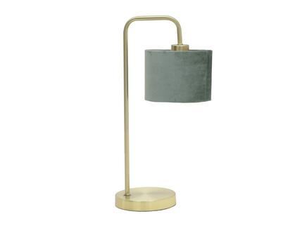 Лампа настольная maassluis (to4rooms) золотой 25x48x15 см.