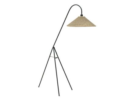 Лампа напольная evreux (to4rooms) черный 103.0x150.0x53.0 см.