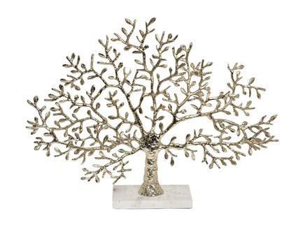 Статуэтка дерево (garda decor) золотой 13x46x60 см.